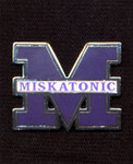 Miskatonic University Alumni lapel pin