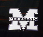 Miskatonic Pro-Cut Decal (STICKER)