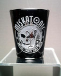 Miskatonic Cocktail Club black shot glass
