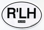 R'lyeh Euro Oval car decal (STICKER)