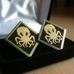 Cthulhu Cufflinks
