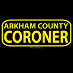 Arkham County Coroner shirt