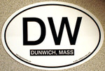 Dunwich Euro Oval Decal (STICKER)