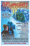 2013 Portland H.P. Lovecraft Film Festival &amp; CthulhuCon Poster