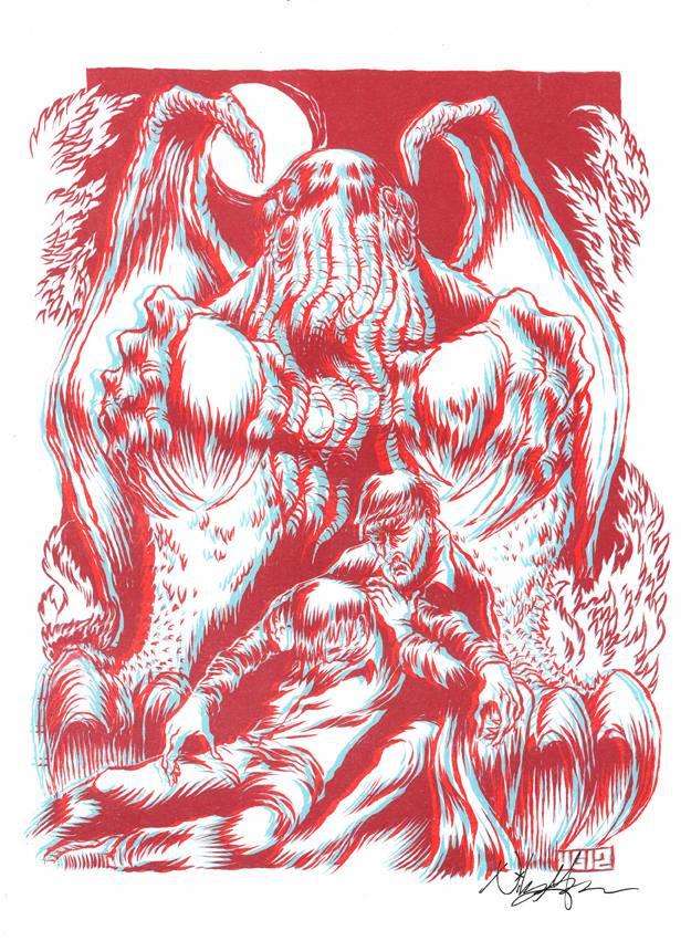 Cthulhu 3d print