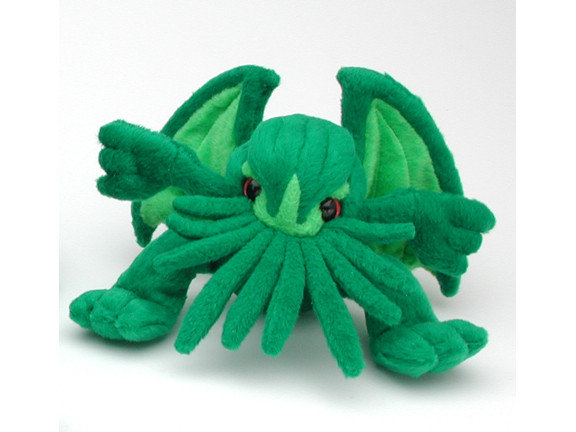 Mini Cthulhu Plush
