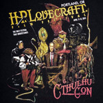2014 H.P. Lovecraft Film Festival & CthulhuCon Festival T-shirt