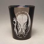 Hellfire Cthulhu shot glass (black)