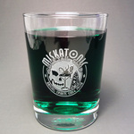 Miskatonic Cocktail Club tumbler glass