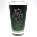 Open Grave Whiskey beer glass