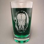 Hellfire Cthulhu beer glass
