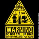 2014 Zompire Film Festival Official T-shirt