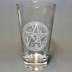 Zompire Legendre Sigil pint glass (rare exclusive)
