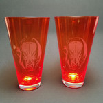 Hellfire Cthulhu Blown Glass set