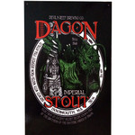 Dagon Stout vintage metal sign