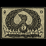 Phoenix Woodcut print shirt