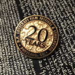 H.P. Lovecraft Film Festival 20th Anniversary Pin