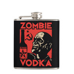 Zombie Vodka Flask