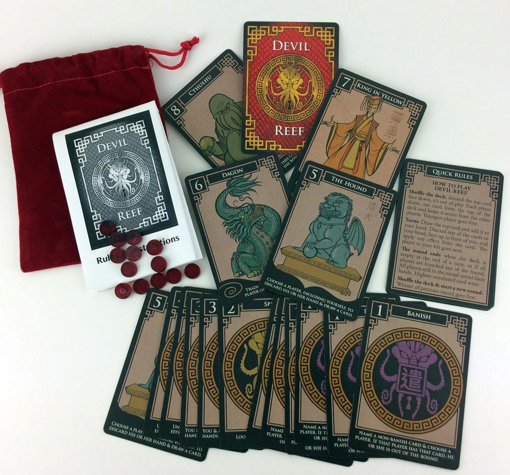 devil reef card game