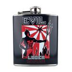 Evil Lager Flask