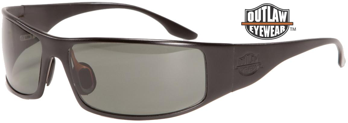 OutLaw Eyewear Fugitive Black frame aluminum sunglass sale