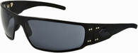 Gatorz Magnum Black Aluminum Military and Motorcycle Sunglass