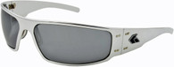 Gatorz Magnum Polished Aluminum frame with Silver Chrome lenses