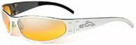 Gatorz Radiator OCC Style- Polished Aluminum frame Orange Gradient Lenses