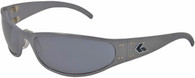 Gatorz Radiator Wrap around sunglasses, GunMetal frame with Gray lenses