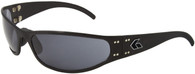 Gatorz Radiator Wrap-around sunglasses Black frame Gray lenses