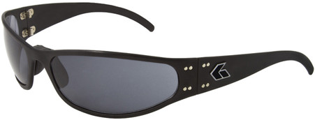 Gatorz Radiator Motorcycle Aluminum Sunglasses Black frame with Gray lenses seen in Lone Survivor movie