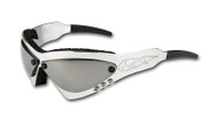 Wind Warrior Billet Aluminum Sunglasses - Chrome lenses