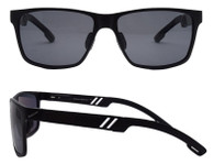 Wayfarer Mg Black Sunglass frame with Gray Polarized lenses
