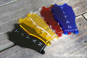 Available colors are Bronze, Yellow, Clear, Red, Orange and Blue