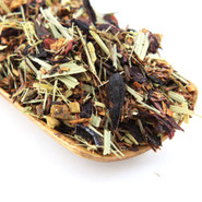A delicious fruity blend of hibiscus and rooibos.