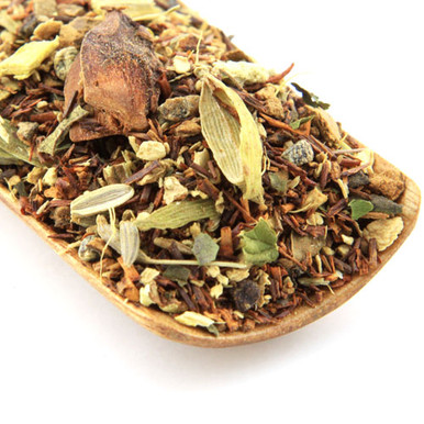 Rooibos Chai is perfect for those who have caffeine sensitivities or allergies that want to enjoy the wonderful spicy flavour of chai.