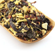 Our Tangerine Ginger herbal blend also makes a great iced tea.
