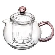 Glass Teapot Flower 400ml