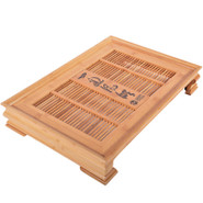 Tea Tray (Cha Pan):  This holds all the items to brew the tea as well as collects all the waste water.