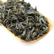 Organic Chinese green tea deeply infused several times with the fresh jasmine flowers.