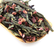 Our organic raspberry green tea is a refreshing and floral blend of green tea with hibiscus and raspberries which is sweet and rich tasty.