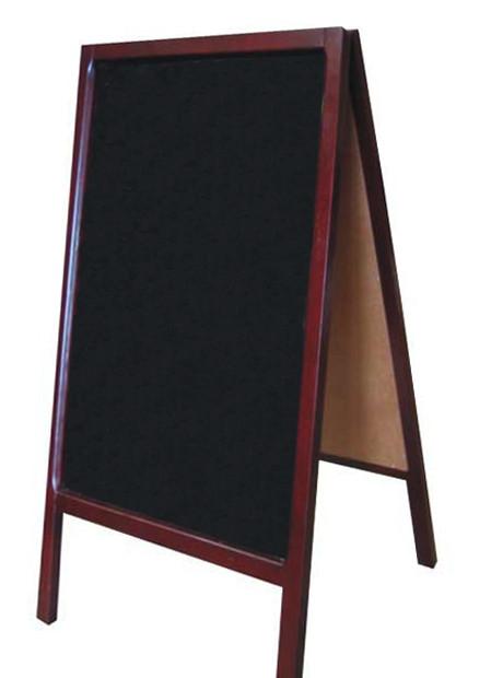 Easel back poster board