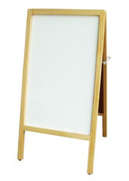 A-frame white marker board 1