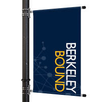 "30"" Street Light Pole Banner"