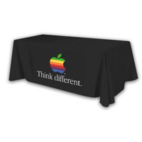Custom Printed 8ft 3-Sided Economy Table Throw for Trade Shows