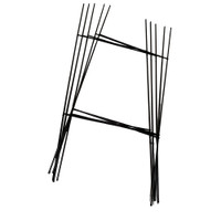 H Sign Stakes for Yard Signs - Heavy Duty (5-Pack)