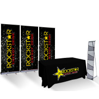 Economy Trade Show 10' Booth Display Package
