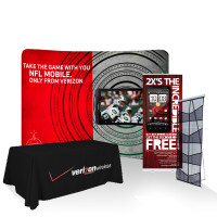 Standard Trade Show 8' Booth Display Package