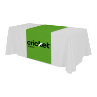 Trade Show Custom Logo Table Runner