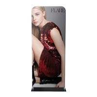 "36"" Fabric Tube Banner Stand"